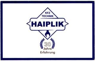 Kfz Fachwerkstatt Haiplik